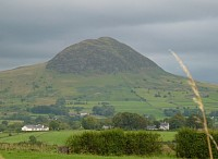 Photo of Slemish Mountain in Braid Valley near Broughshane.