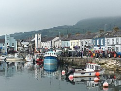 More Boats in Carnlough Harbour and vintage rally.